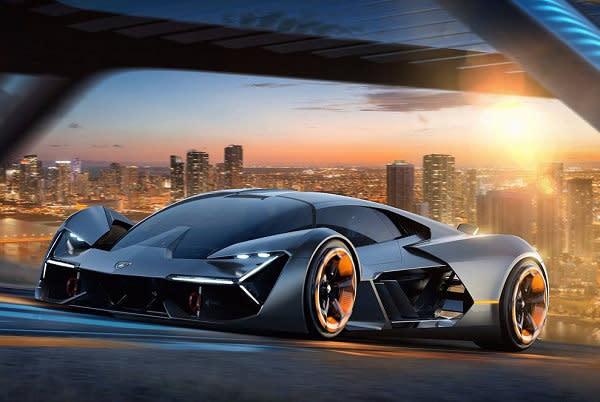 LAMBORGHINI電動超跑出爐,攜手麻省理工學院打造電動概念車 Terz