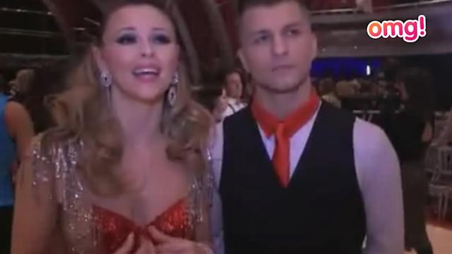 Kimberley Walsh is sad Nicky Byrne's out of Strictly