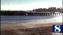 Extreme high and low tides in Monterey, Santa Cruz