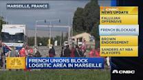 CNBC update: French blockade