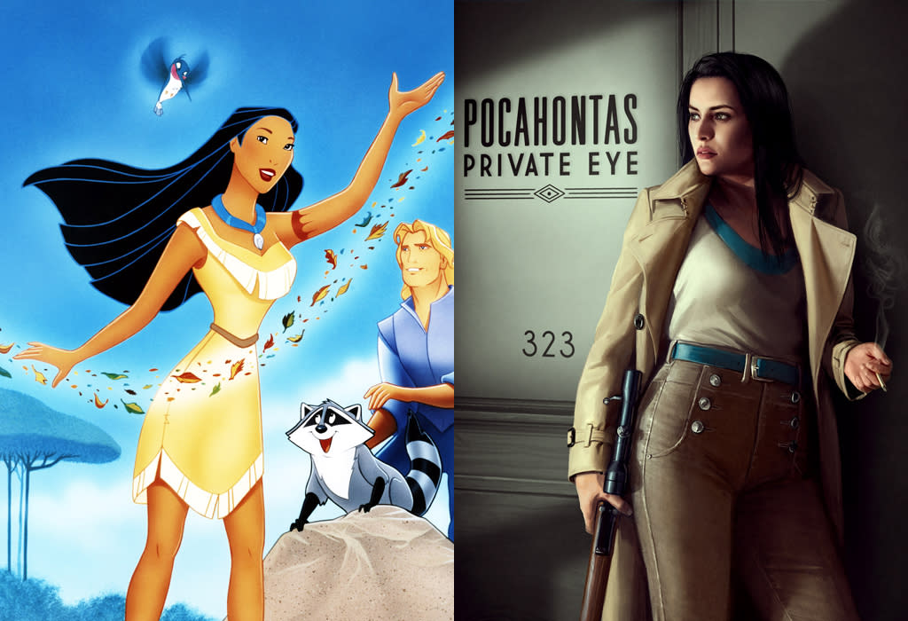 Pocahontas, from