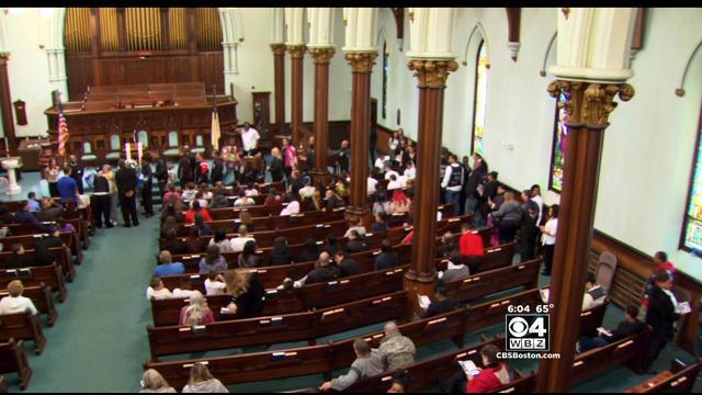 Funeral Held For Jeremiah Oliver In Fitchburg