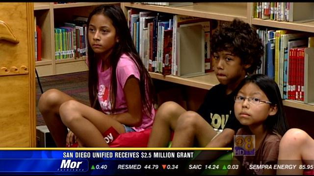 San Diego Unified receives $2.5M grant