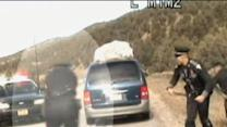 Dramatic Highway Police Chase Caught on Tape