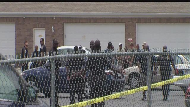Violence erupts at funeral for slain teenager