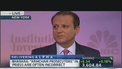 Bharara to Wall Street: 'People should be afraid'