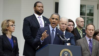 Obama Slams Senators Who Opposed Gun Measure