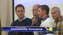 Voicing concerns at Bullard High School