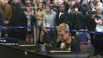 Index: Sir Elton John's Special Gift to Commuters in London