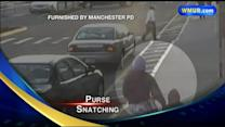 Manchester police search for purse snatcher