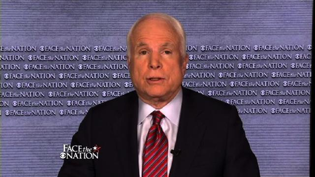 McCain: Need to give Syrian rebels a no-fly zone