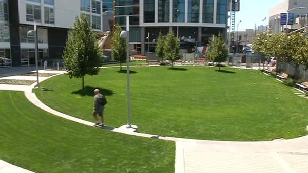 Privately owned public park to open in Rincon Hill