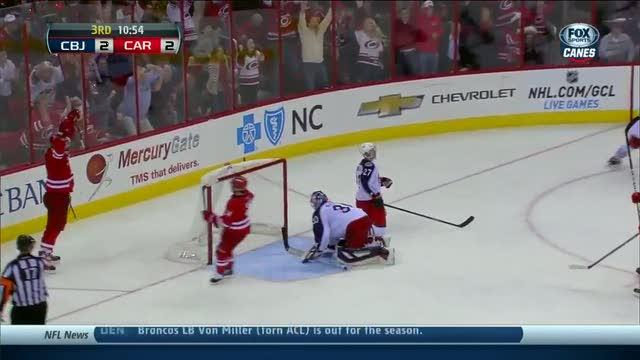 Alex Semin takes the lead