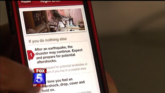 Earthquake Apps Offer Guidance In Preparing For `Big One`
