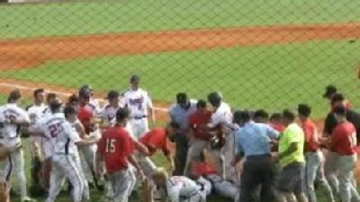Video: Baseball Fight On Field