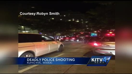 Police shooting in Waikiki leaves driver dead