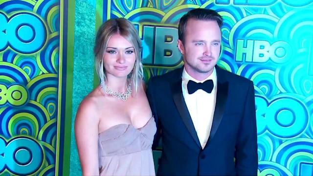 Aaron Paul Wants Daughters 'Just Like' Wife Lauren Parsekian