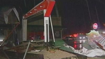 Southern Indiana Residents Hit Hard By Monday's Storms