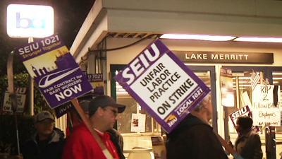 Transit Strike Frustrates Bay Area Commuters