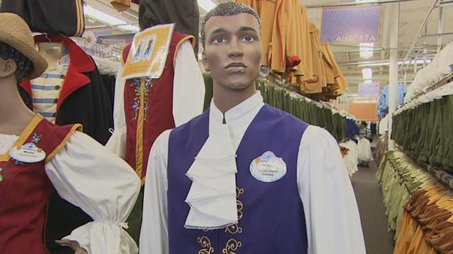 Rare Look Backstage at Walt Disney World Costuming