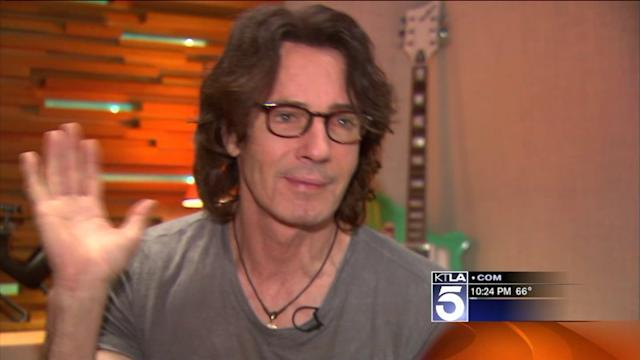 Singer Rick Springfield Talks About His Music and His Fans