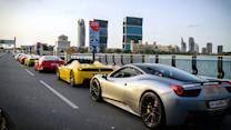 Ferrari Owners Unite For Exclusive Qatar Track Run