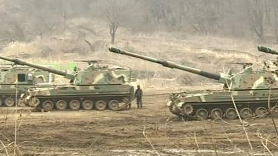 Raw: SKorea, US Carry Out Joint Military Drills