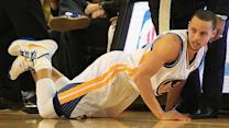 Stephen Curry on his ankle problems