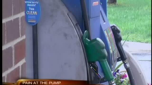 Tropical Storm Isaac causes gas price hike