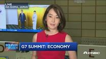 Global economy takes center stage at G7
