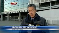 Commissioners vote 2-1 to roll back property tax rebate