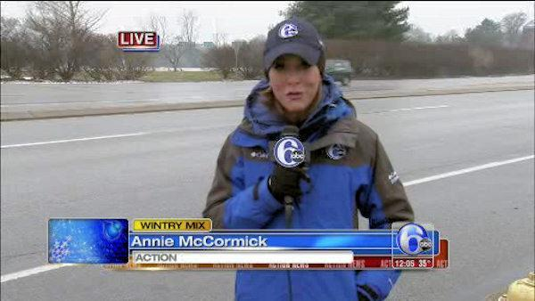 Wintry Mix: Annie McCormick in West Chester, Pa.