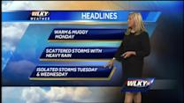 Sunday Night Weather for June 23rd