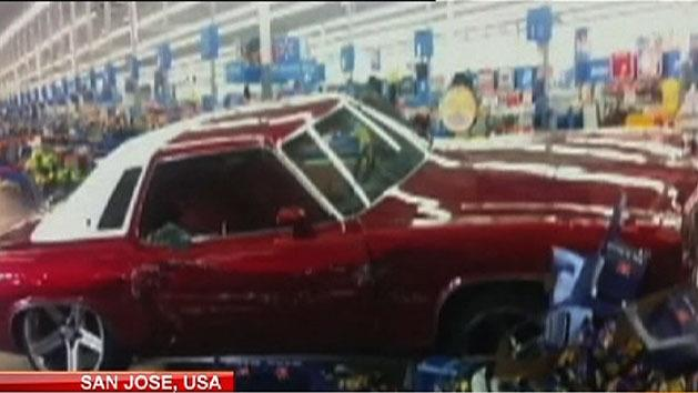 Man crashes into store, attacks shoppers