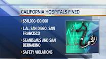 Ten California hospitals fined for patient care errors