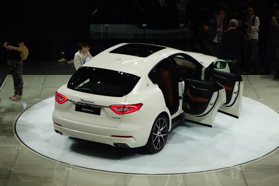 訂單爆量,「40輛」Maserati Levante根本不夠賣!