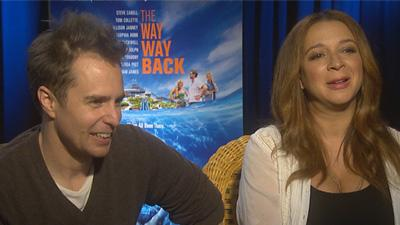 Sam Rockwell And Maya Rudolph 'Talk The Way, Way Back'
