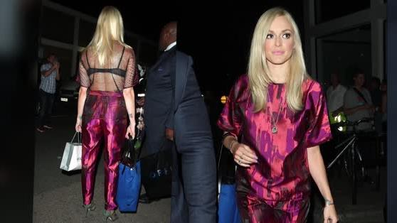 Fearne Cotton Flashes Her Bra as She Returns to Celebrity Juice