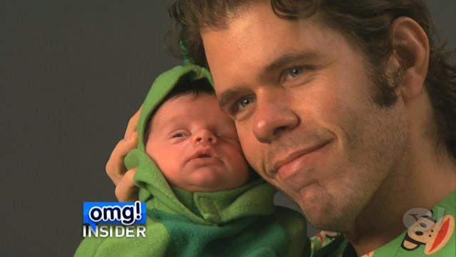 Perez Hilton's Precious Photo Shoot with Baby Son