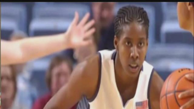 Cancer survivor Jessica Breland thrives in WNBA