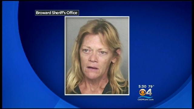Homeless Woman Run Down Outside Hollywood Shelter
