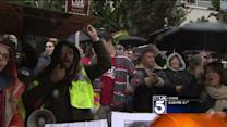 Protesters Rally at Walmart Store in Crenshaw District