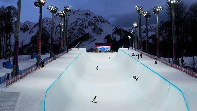 Halfpipe riders concerned about course conditions