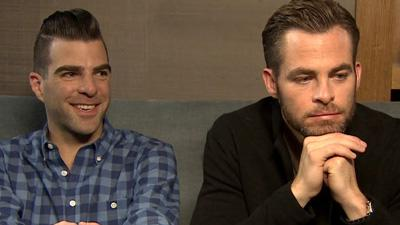 Zachary Quinto and Chris Pine Discuss 'Star Trek Into Darkness'