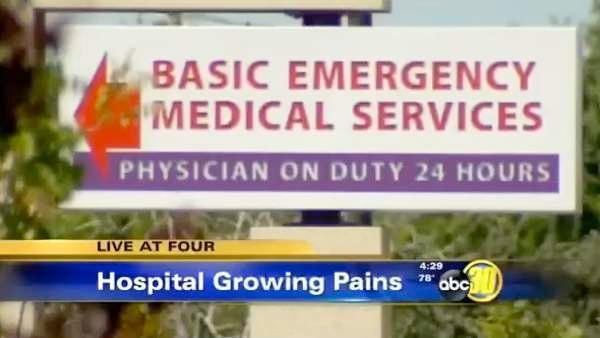 Tulare Regional Medical Center is discussing a realignment plan