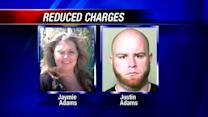 Charges against Justin Adams reduced to manslaughter