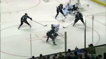 Slava Voynov scores far-side on Niemi