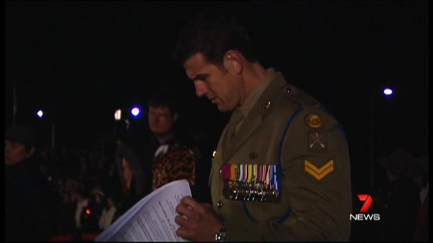 Ben Roberts-Smith's Anzac tribute
