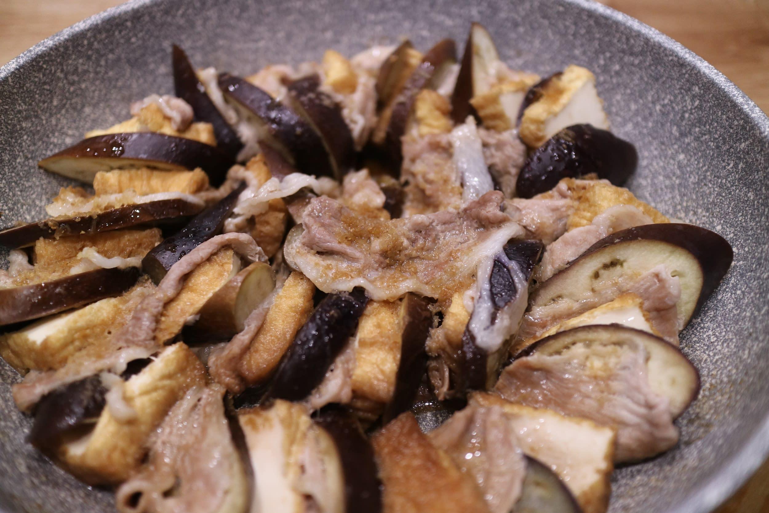 千層豬肉茄子油豆腐