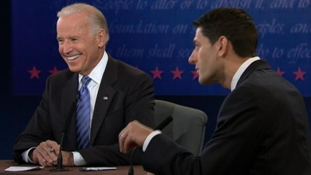 Biden Laughs at Ryan's 'Malarkey' on Foreign Policy
